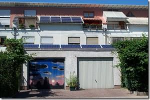 Ohne Not eingeschränkte Photovoltaiknutzung an Niedrigenergiehaus in Darmstadt