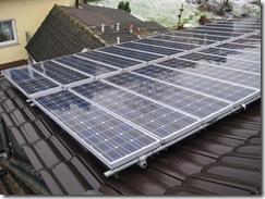 Photovoltaikanlage Baujahr 1993