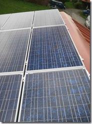 Photovoltaikanlage Baujahr 2008