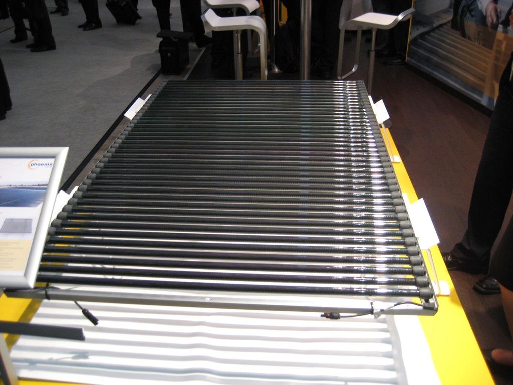 Dünnschichtmodul bestehend aus Röhren vom US-amerikanischen Hersteller Solyndra