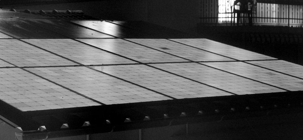 Elektrolumineszenzaufnahme Sunpower Module