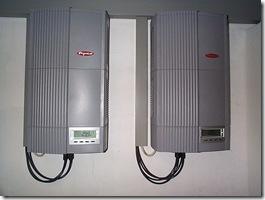 Wechselrichter mit Hochfrequenztransformator vom Typ Fronius-IG-60