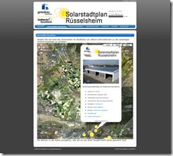 Solarstadtplan-Rüsselsheim