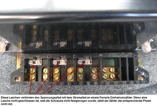 Ferraris Drehstromzaehler