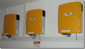 trafolose SMA Wechselrichter vom Typ SMC 6000 TL