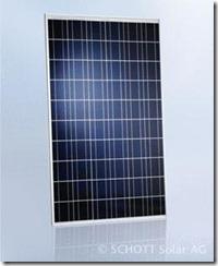 polykristallines Solarmodul von Schott Solar