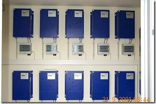 Wechselrichterstation mit mehreren Stringwechselrichtern