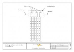 Bild 1: Interne Verschaltung Solarmodul vom Typ Enfoton E6-170F