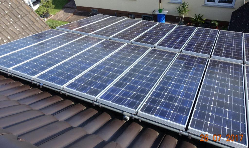 erste Photovoltaikanlage in Ruesselsheim
