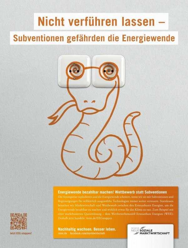 Motiv Printanzeige für die Wirtschaftswoche, 10.09.2012; Quelle: INSM-website