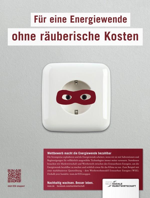 Motiv Printanzeige für das Managermagazin, 21.09.2012; Quelle: INSM-website