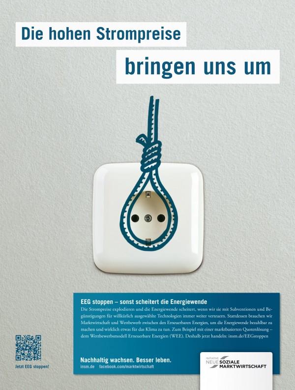 Motiv Printanzeige für die Wirtschaftswoche, 24.09.2012; Quelle: INSM-website